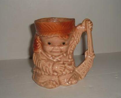 BRUSH - DAVY CROCKETT AS A BOY  Mug