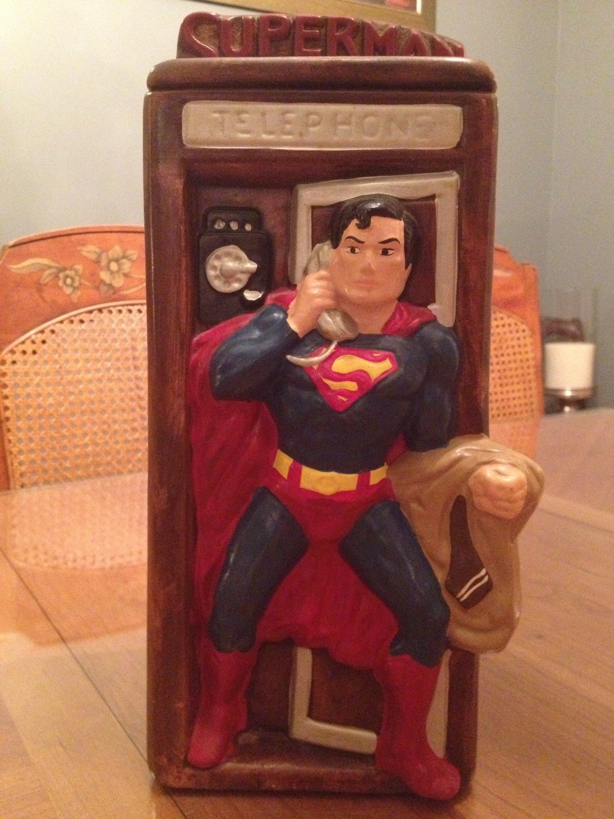 California Originals - Superman Cookie Jar.