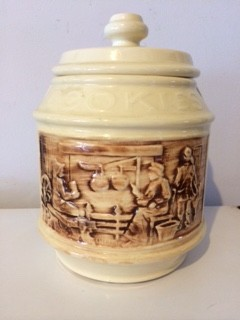Frontier Family Cookie Jar by McCoy