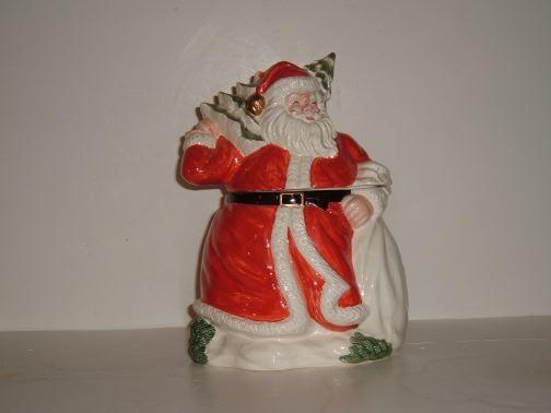 OMNIBUS - German Santa cookie jar