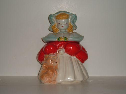 Goldilocks Cookie Jar by Regal China.