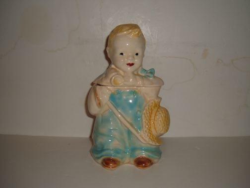 BRUSH - Little Boy Blue Cookie Jar