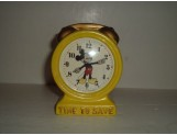 "Mickey Mouse Clock Bank ""Time To Save"""