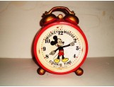 Mickey Mouse Cookie Time Clock Cookie Jar