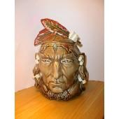 Indian Cookie Jar by McCoy