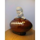 Boy on a Football Cookie Jar by McCoy