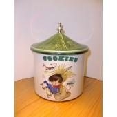 "Nursery Rhyme ""Little Boy Blue"" Cookie Jar by McCoy"