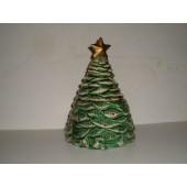 Christmas Tree Cookie Jar by California Originals