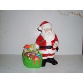 Santa w/Bag of Toys Cookie Jar by Twin Winton.