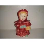 BRUSH - Red Riding Hood Cookie Jar