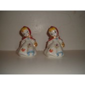 RARE!!!  HULL - Little Red Riding Hood Salt and Pepper Shakers